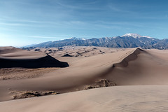 Mount Herard View from Dune (Matt Thalman - Valley Man Photography) Tags: mountains landscape nationalpark sand colorado dunes sanddunes greatsanddunesnationalpark 13er mountherard