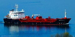 Scotland river Clyde tanker Stolt Sandpiper 22 April 2015 by Anne MacKay (Anne MacKay images of interest & wonder) Tags: by river anne 22 scotland clyde ship picture april mackay sandpiper tanker stolt 2015 xs1