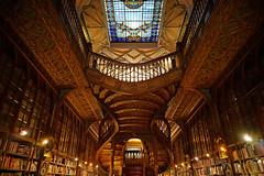 Porto (Yann OG) Tags: porto portugal librairie library f28 book bois boiserie woodwork livre escalier stairs bibliothèque bookshop lello