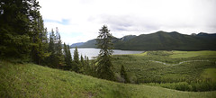 Rock Lake Lookout (Shane Sadoway) Tags: mountain lake tree nature rock forest rockies view lookout wilderness