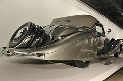 The New Petersen Automotive Museum (USautos98) Tags: 853 1937 cabriolet horch