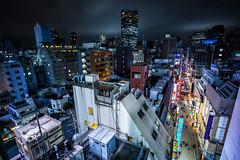 2015 (Sandro Bisaro) Tags: city nightphotography people urban building japan skyline night canon dark japanese tokyo lowlight asia cityscape skyscrapers aerialview aerial   japon giappone nihon moritower tokio shinbashi   megacity canon5dmarkiii sandrobisaro canon1635mmf4lis