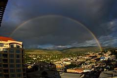Heaven's bow (jasbond007) Tags: sunset canada rainbow pentax britishcolumbia okanagan penticton k20d nigeldawson smcpentaxda1017mmf3545fisheyeedif jasbond007 copyrightnigeldawson2016