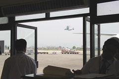 Tribhuvan International Airport (stewickie) Tags: tribhuvan international airport nepal osprey vtol airplane relief aid military earthquake