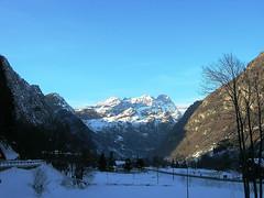Il Monte Rosa visto da Riva Valdobbia (VC) (Massimo Caccia) Tags: montagna montagne valsesia piemonte panorama inverno neve