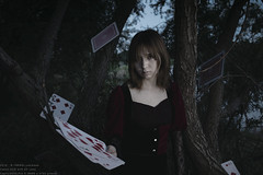 Sorceress in nightmare (TAKAGI.yukimasa1) Tags: portrait woman people girl beauty asiangirl japanese canon eos 5dsr fineart female mysterious magician dark cool forest