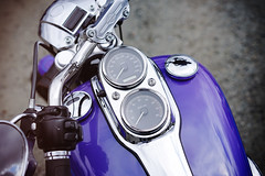 Harley in detail, Spit-N-Shine (Eric Flexyourhead (shoulder injury, slow)) Tags: canada detail bike metal vancouver zeiss reflections shiny downtown bc tank bokeh britishcolumbia harley motorbike chrome american harleydavidson motorcycle instruments hog speedometer handlebars gauges fueltank tachometer fragment shallowdepthoffield 2016 theshop waterfrontroad 55mmf18 sonyalphaa7 zeisssonnartfe55mmf18za spitnshine 2016spitnshinevintageandcustommotorcycleshowandshine