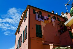 Blue Sky (Johnnyvacc) Tags: monterosso italy cinqueterre