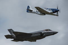 RIAT 2016 - Heritage Flight (Harry_S) Tags: nikon d750 nikkor 200500mm f56 e vr airshow aviation raf fairford riat 2016 royal international air tattoo mustang f35 usaf