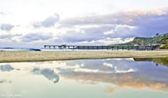 reflections (Fire Light Photos) Tags: world ocean sky reflection beach water beautiful clouds canon reflections newcastle australia oceanside beautifulworld catherinehillbay discoveraustralia exploreaustralia