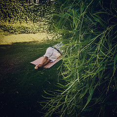 Public sleeping season in full swing (Melissa Maples) Tags: antalya turkey trkiye asia  apple iphone iphone6 cameraphone square 11 instagram summer green asleep sleeping nap turk man