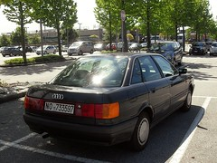 Audi 80 1.8 E Comfort 1991 (LorenzoSSC) Tags: audi 80 18 e comfort 1991