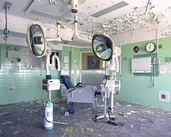 (Matt Allouf) Tags: bronica etrsi 120 fuji pro 400h medium format color film 645 epsonv500 abandoned hospital new york