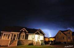 Orage a Mtabetchouan. (donaldpoirier93@yahoo.fr) Tags: pluie paysage extrieur orage longueexposition tonnerre clair longuepose foudre