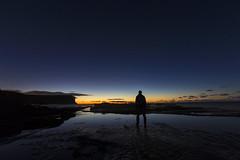 Stargazer (__Jase__) Tags: taurus orion canismajor astro astrophotography selfie sunrise stars astrophotographyselfie gariebeach reflection beach ocean stargazer wonderer australia