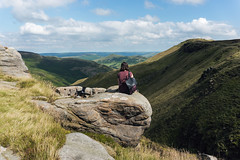 Edale | Peak District (In a dream I was a werewolf_) Tags: uk travel holiday mountains photography scenery rocks view peakdistrict edge edale