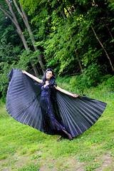 IMG_1741p (ScarletPeaches) Tags: fairy pixiefaerie fae isiswings fantasy outdoors bethw goth blackdress