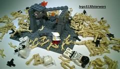 STAR WARS LEGO: THE LAST LINE minimoc custom  by lego3130starwars (lego3130starwars) Tags: by last star lego line wars custom the minimoc lego3130starwars