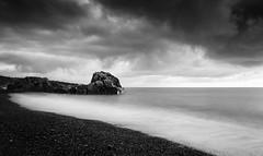 Mystic Sea (johnsteelephoto) Tags: nikonf4 kyungju tmax100  leefilters clouds sea