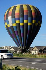 Suburban Landing (Let Ideas Compete) Tags: louisville co colorado louisvilleco louisvillecolorado balloon hotairballoon