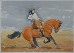 DSC02171_low (RafaelSan) Tags: acuarela watercolor uruguay caballo criollo gaucho horse