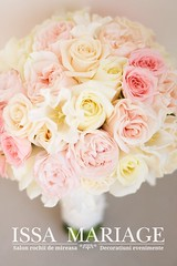 buchet mireasa superb in culori pale roz si ivory (IssaEvents) Tags: buchet mireasa superb culori pale roz si ivory bucuresti valcea slatina issamariage issaevents