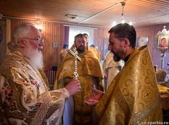Божественная литургия в пос.Котово 180