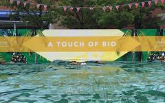 20160802_A touch of Rio (Damien Walmsley) Tags: riodejaneiro rio touchwood solihull olympics rain water tarpaulin shoppingcentre englishsummer