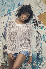 Atlanta Beauty (Keltron - Thanks for 8 Million Views!) Tags: shanel brunette beautifulgirl model youngmodel prettygirl cutoffs atlantagirls georgiagirl prettysmile posterwall downtownatlanta
