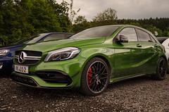 Mercedes-AMG A 45 (navnetsio) Tags: mercedesbenz mercedesamg amg mercedes benz a45 a45amg 45amg green aerodynamics package