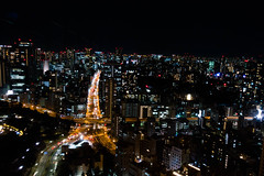 tokyo tower night view (pocky7247) Tags: rx100m3 rx100 sony tokyo japan tokyotower tokyostreet nightview black building city