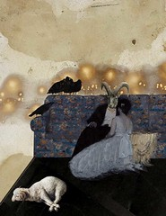 the apology (yumikrum) Tags: yumikrum collage art sacrifice occult esoterica surrealism beloved dark ultimate power illuminati secret society ritual baphomet symbol mystery offering ceremony ego psychology self apology eyeswideopen