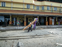 main station (S_Artur_M) Tags: india indien lumix panasonic reise tz10 travel darjeeling westbengal