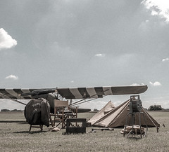 Untitled (Wouter de Bruijn) Tags: fujifilm xt1 fujinonxf14mmf28r airplane aeroplane plane airport grass field tent camping wwii ww2 worldwar2 worldwartwo airforce usaf outdoor grain