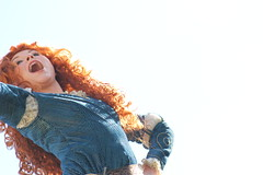 Merida (mediumhero6) Tags: world street usa face festival orlando mine florida character magic main parks kingdom disney parade fantasy merida pixar brave wdw waltdisneyworld walt mk fof disneyparks facecharacter