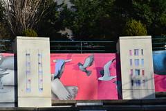 Les oiseaux dans la ville, by Seth (Jeanne Menjoulet) Tags: streetart paris seth belleville ville oiseaux