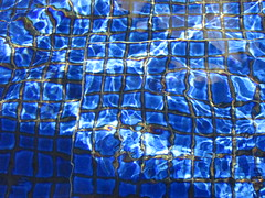 Water, Water Everywhere. . . (vickilw) Tags: blue water fountain tile wordsofwisdom week37 cmwd 7daysofshooting thoroughlyabstractthursday