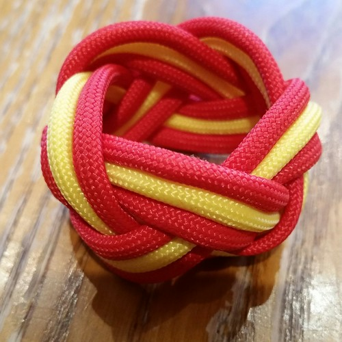 Made a new turks head woggle