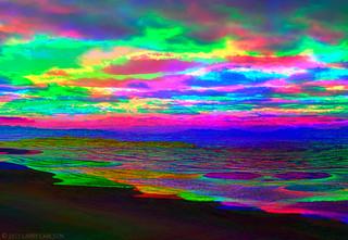 LARRY CARLSON, Dream in Rainbows, 2015.