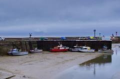 Normandie Port-en-Bessin 63 - l'avant-port  mare basse (paspog) Tags: france port puerto porto normandie hafen marebasse portenbessin