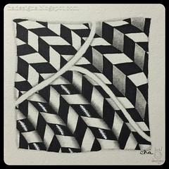 Zentangle® Art : Jonqal : Shading Class (ha! designs) Tags: blackandwhite abstract art illustration pen pencil tile pattern drawing doodle tangle graphite shading 2015 zentangle hadesigns zentangleinspiredart monotangle jonqal jonqual hadesignszentangle