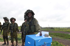 Israel Elections in the IDF (Israel Defense Forces) Tags: israel soldiers vote elections voting