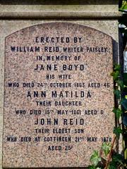 jane boyd (2) (dddoc1965) Tags: flowers blue trees light sky cloud march scotland spring photographer stones 23 remembrance paisley woodside 2015 davidcameron dddoc