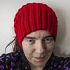 Red Calorimetry (stitchling) Tags: knitty calorimetry