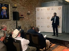 Louisiana StartUp Prize alumnus Varun Kopparthy is up to amazing things! Last week he was one of five finalists to pitch in New Orleans as part of the Delta Regional Authority Challenge. Register for our April 17-19 qualifier and this could be you! http:/