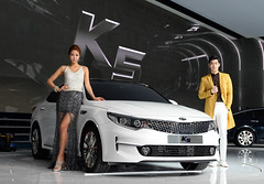 Kia at Seoul Motor Show 2015 (Kia Motors Worldwide) Tags: auto cars car automobile automotive vehicles kia motorshow optima seoulmotorshow passengercar kiamotors kiacar thekia kiacars allnewoptima kia2015 seoulmotorshow2015