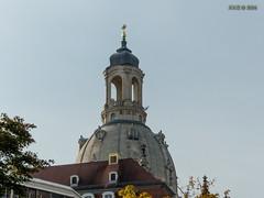 Dresden, Frauenkirche, Oktober 2014 (joergpeterjunk) Tags: dresden outdoor frauenkirche gebude historisch panasonicdmcfz200