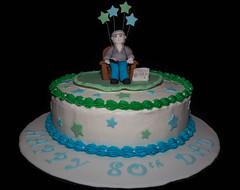 Happy 80th Birthday Dad Hey Its K Tags Cakes Cake Grandpa