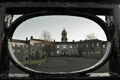St Josephs Psychiatric Hospital (Amy_Waters) Tags: ireland building composition hospital framed limerick psychiatric urbanscape