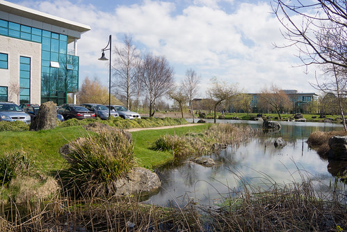 CITYWEST CAMPUS IN NICE TO VISIT ON A SUNNY DAY IN APRIL REF-103335
